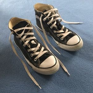 Black Converse All-Star Sneakers